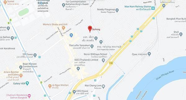 Bangkok Sühring Map