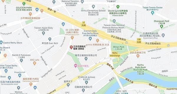 三元花園韓式餐廳台北潭美店