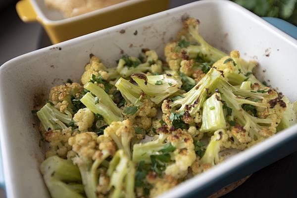 烤白花椰菜 - 1