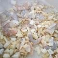 鮮蝦雞肉番紅花奶油義大利麵 - 4