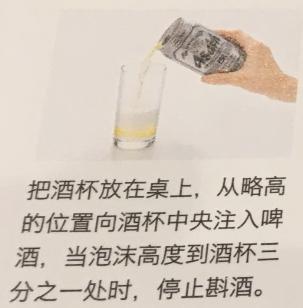 專業的倒啤酒方法1