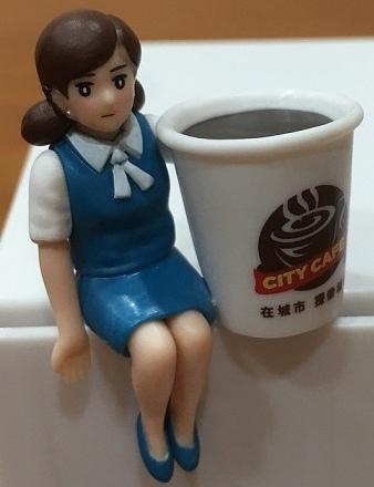 7-11 City Cafe集點-環遊世界杯緣子 >_小公仔