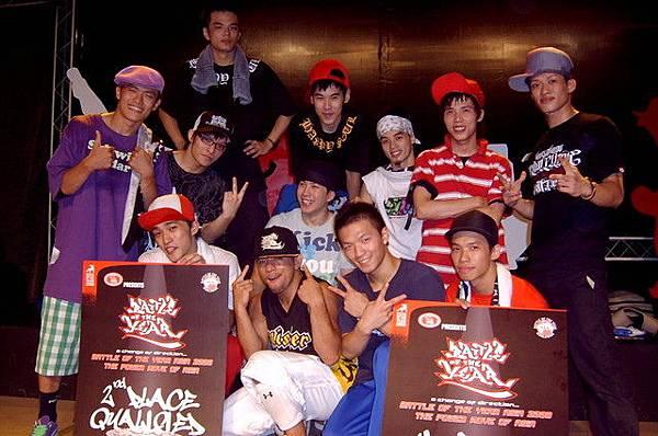 Formosa BOTY亞洲預賽 最佳表演&第二名