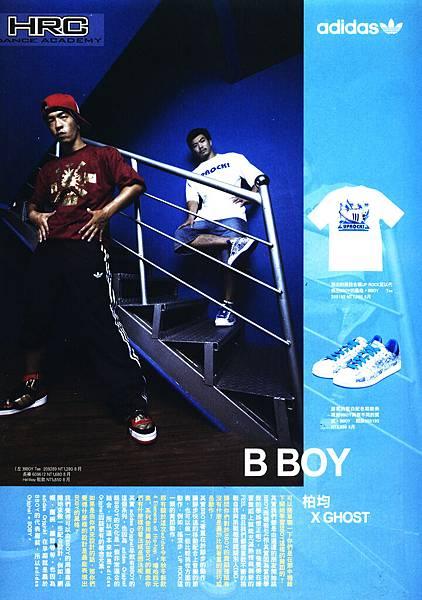 嘻哈元素--B-Boy