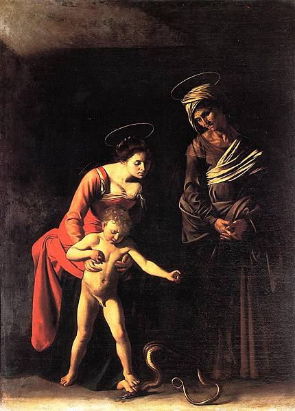 聖母和毒蛇Madonna and Child with a Serpant