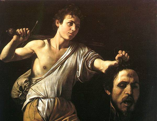 大衛提著巨人頭David with the Head of Goliath