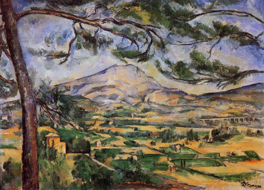 07-塞尚-約1887年-大松樹與聖維克多山-油畫e-66x90cm-倫敦柯特藝術學院藝廊e.jpg