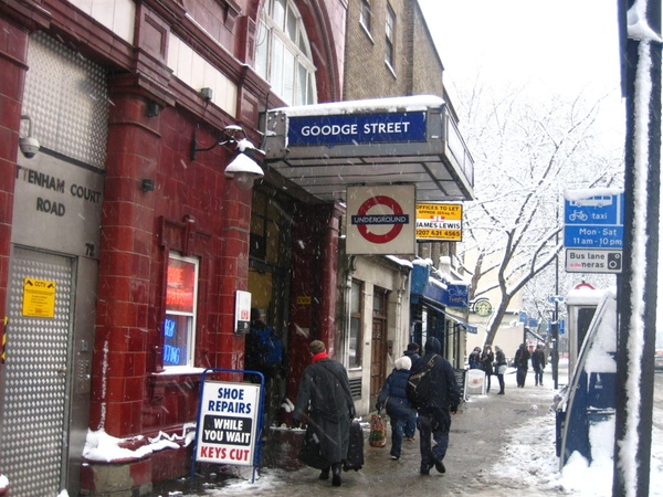 走到Goodge Street Station.jpg