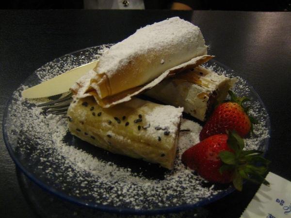 pancake包香蕉