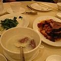 燒臘  牛肉粥