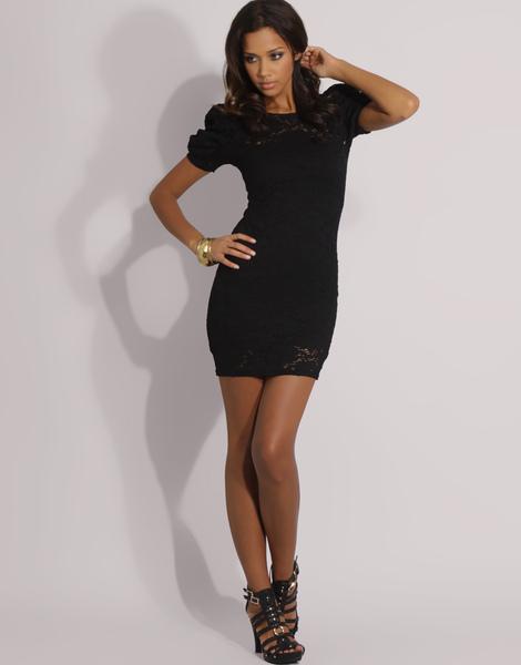asos  puff shoulder lace dress 3.jpg