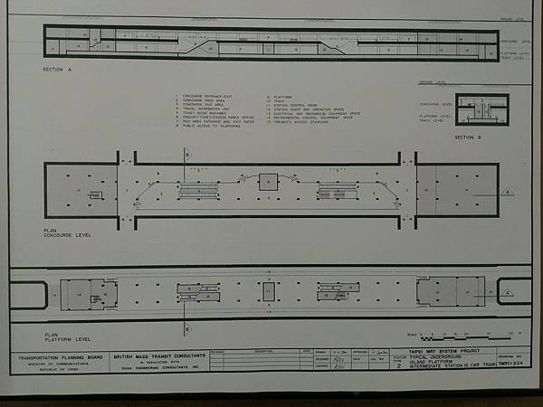 BMTC標準紅線車站布局