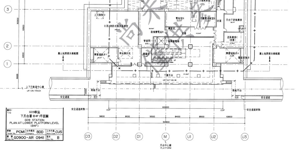 桃園G09下層月台