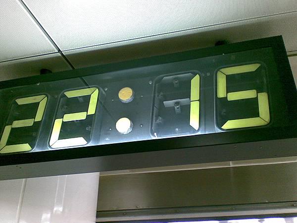 台北站B3轉乘區翻翻鐘