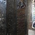 有著長尾巴的猴子神God Hanuman