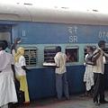 在印度移動,坐火車是最方便的了~