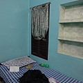 因為長輩的介紹,這家旅館是我這趟住的最乾淨也最便宜的一家。一晚Rs.230