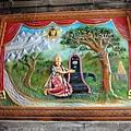 因為Shiva與Pavati (Kamakshi)在一棵芒果樹下結婚,所以信眾在原地建了這個廟~