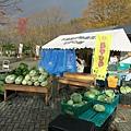 還有野菜販賣商