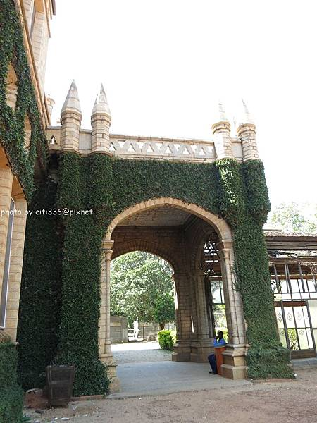 Bangalore palace_archdoor