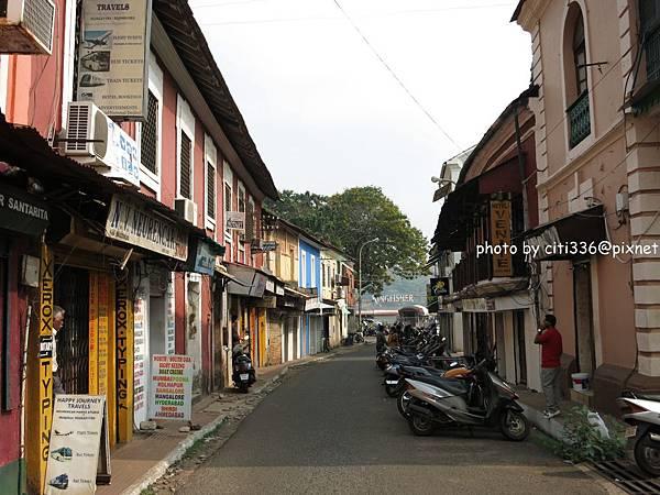 Goa-Panaji street