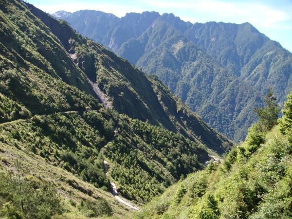 塔塔加山谷