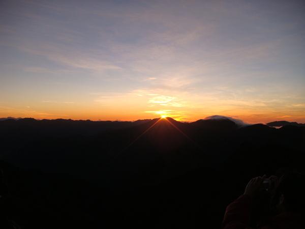 太陽出來了