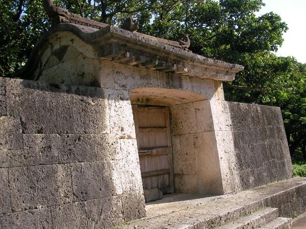 這是真正的古城門