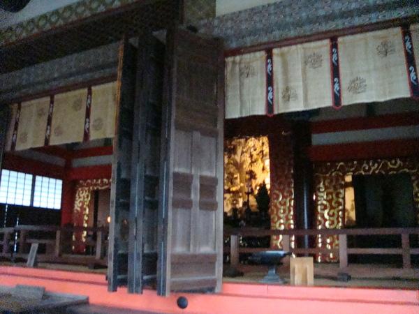 清水寺的殿門