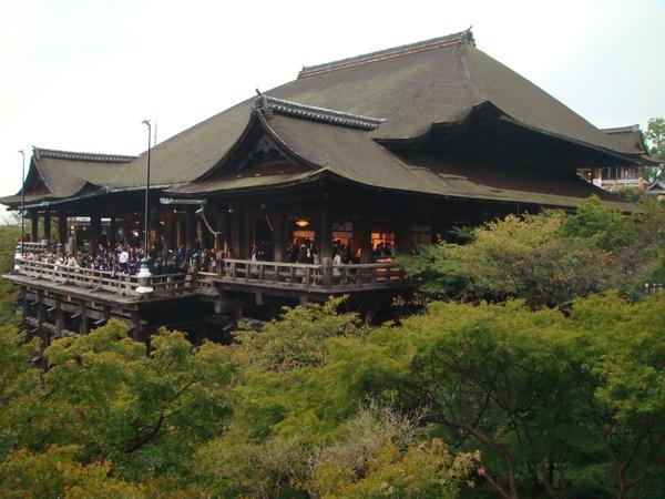 這就是網站上的那張照片啦~清水寺超有人氣