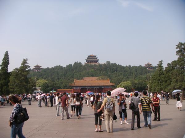 繼續往前走,景山,去看北京中軸線!!