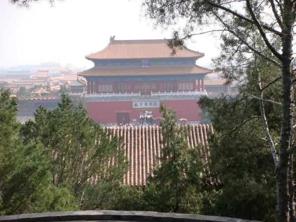 從景山眺望紫禁城