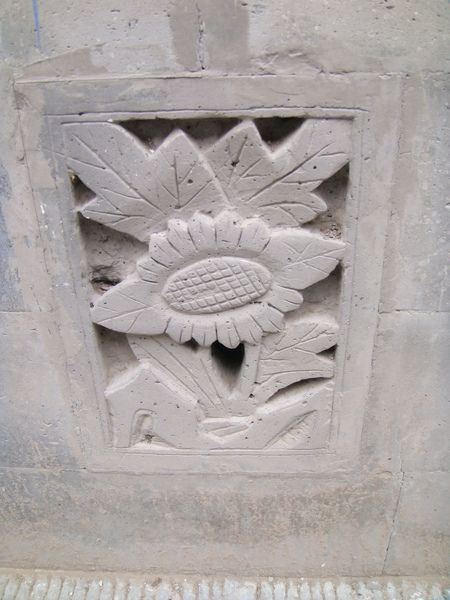 雕花排水孔