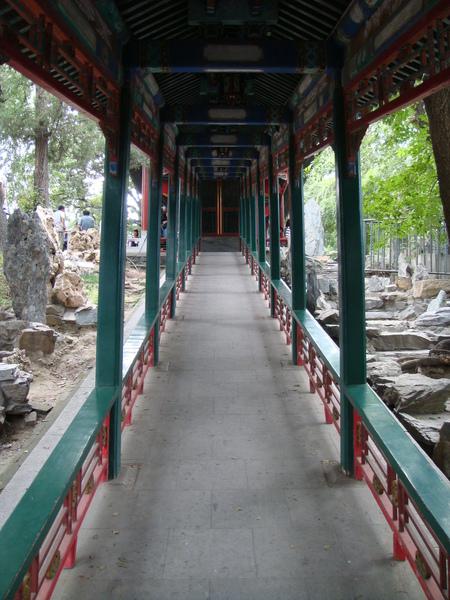 很陡的長廊