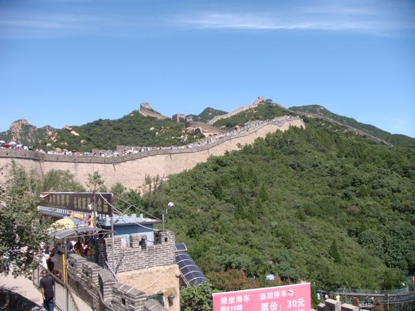 來北京當然要到長城去一趟 - 八達嶺長城 The Great Wall of China