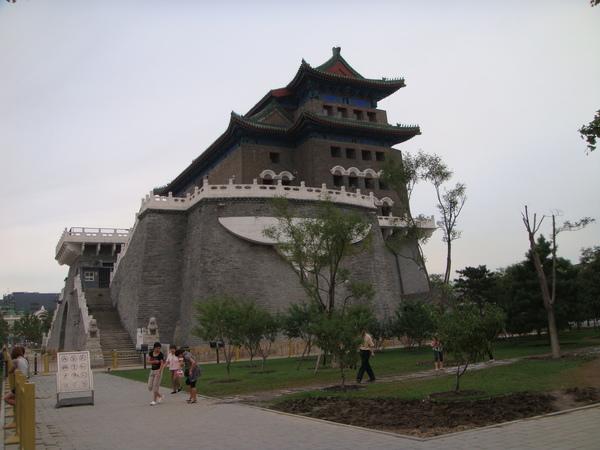 北京箭樓,白天看起來好漂亮