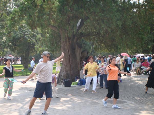 北京市民最愛的運動之ㄧ