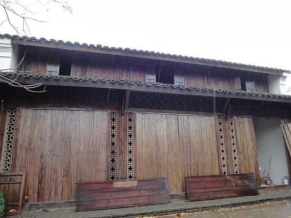 蔣家村的傳統房舍