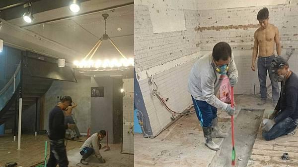 室內設計-住宅裝修-商業空間-咖啡廳裝潢-咖啡廳廚房管線-咖啡廳拆除.jpg