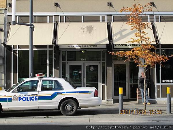 幾乎看不見的警察局