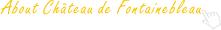 About Château de Fontainebleau
