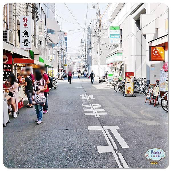 大阪黑門市場MAGUROYA黑銀生魚片003.jpg