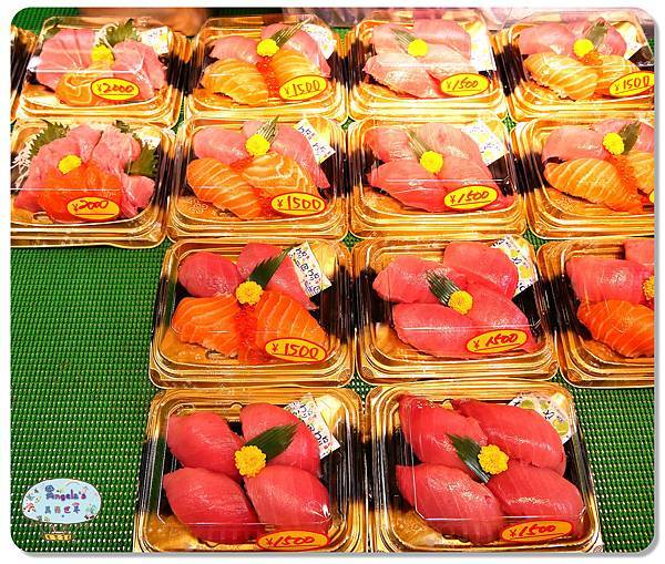大阪黑門市場MAGUROYA黑銀生魚片009.jpg