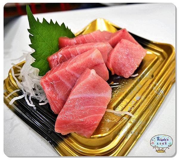 大阪黑門市場MAGUROYA黑銀生魚片021.jpg