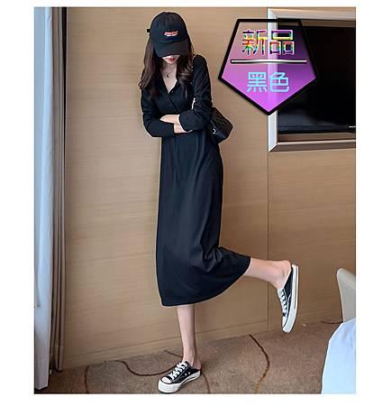 維多利亞法式復古氣質連帽連衣裙002.jpg