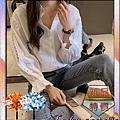 韓版時尚寬鬆摟空喇叭袖長袖襯衫015.jpg