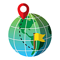 —Pngtree—global distance between two points_5306107.png