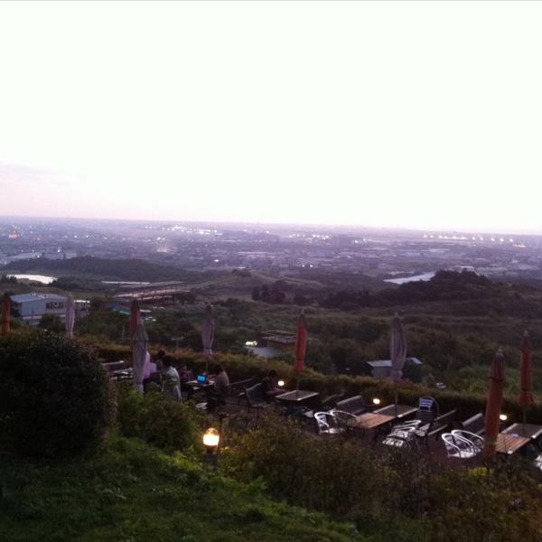 這裡可看桃園機場起降,有很棒的景色