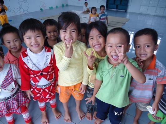在新學校上學的歡樂.JPG