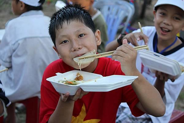 孩子都非常喜歡吃便當